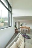 公寓,客厅的细节 免版税库存图片