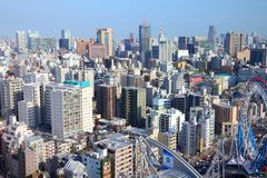 公寓结构大厦大厦具体玻璃高日本现代住宅上升钢东京塔耸立 库存图片
