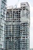 公寓建筑。 免版税库存图片