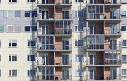 公寓multiroom视窗 免版税库存图片