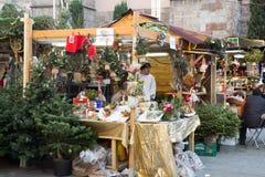 公平传统的圣诞节 库存图片