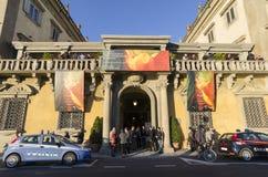 公平佛罗伦萨国际每两年古董的艺术-比安奈尔dell'Antiquariato佛罗伦萨 免版税库存照片