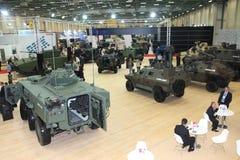 公平国际的国防工业,伊斯坦布尔,土耳其 免版税库存图片