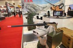 公平国际的国防工业,伊斯坦布尔,土耳其 免版税库存照片
