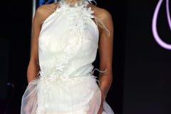 公平地婚姻的时装表演 免版税库存照片