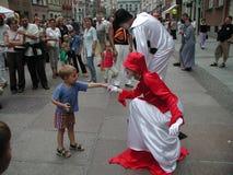 公平格但斯克圣Dominic的` s 免版税库存照片