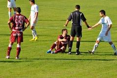 公平比赛足球 免版税图库摄影