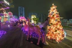 公平的圣诞节 免版税库存图片