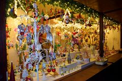 公平的圣诞节 免版税图库摄影