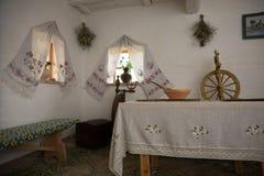 公平的Sorochinsky Mirgorod 历史乌克兰房子 免版税库存图片