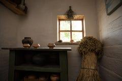公平的Sorochinsky Mirgorod 历史乌克兰房子 图库摄影