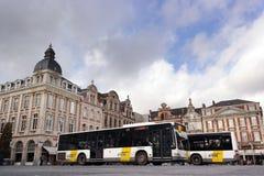 公开公共汽车 图库摄影