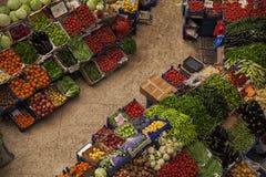 公开农夫市场 库存图片