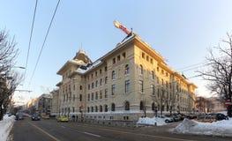 公开历史大厦-布加勒斯特罗马尼亚 免版税库存图片