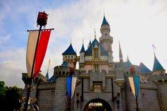 公开城堡 库存图片