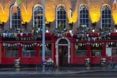 公开家的都伯林-爱尔兰 免版税库存图片