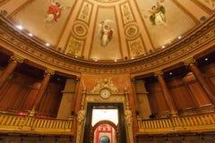 公开屋子在巴塞罗那Cityhall  免版税库存照片