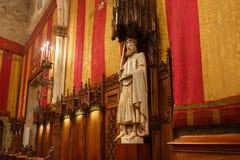 公开屋子在巴塞罗那Cityhall  免版税图库摄影