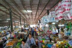 公开市场在泰国 免版税库存图片