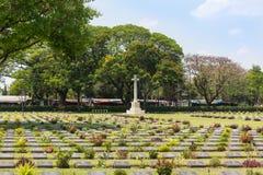 公开战争公墓唐Rak是第二次世界大战的联盟的囚犯的历史纪念碑在T的 库存照片