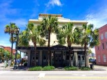 公开拍卖小店旅馆在查尔斯顿,南卡罗来纳 免版税库存图片