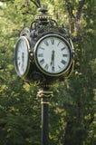 公开时钟 库存照片