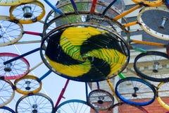 公开艺术在Missoula,蒙大拿 免版税库存图片