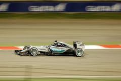 公式1海湾航空公司巴林大奖赛2015年 库存图片