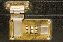 公文包锁定 库存照片