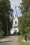 公正Gorbachev&的x27恶疾病人教会; s公墓在市沃洛格达州 库存图片