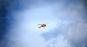 公民安全的直升机EC 135 免版税库存照片