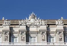 公爵的宫殿在热那亚 库存照片