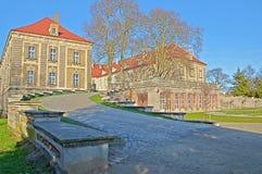 公爵的宫殿在萨根。 免版税库存照片