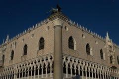 公爵的宫殿威尼斯 免版税库存图片