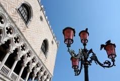 公爵的意大利宫殿威尼斯 图库摄影