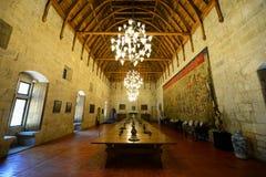 公爵Braganza, Guimarães,葡萄牙的宫殿 免版税库存图片