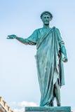 公爵Richelieu的雕象 傲德萨乌克兰 免版税库存照片