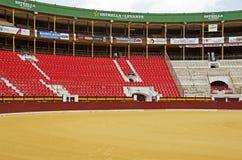 公牛圆环在穆尔西亚,西班牙 免版税库存图片