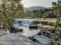 公牛小河在奥斯汀TX 免版税库存照片