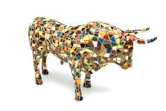 公牛形象 库存图片