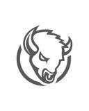 公牛摘要传染媒介7业务保险摘要 免版税库存照片