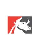 公牛摘要传染媒介3业务保险摘要 库存图片