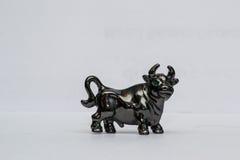 公牛的图 免版税库存照片