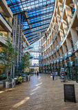 公立图书馆现代大厦 免版税图库摄影