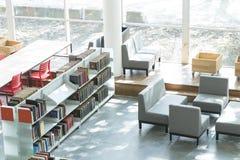 公立图书馆麦德林biblioteca pública piloto营业日2018年12月 免版税库存照片