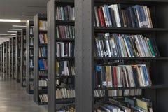 公立图书馆麦德林biblioteca pública piloto营业日2018年12月 免版税图库摄影