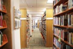 公立图书馆 库存照片