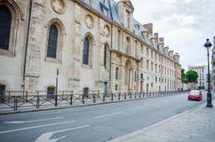 公立高中亨利IV在巴黎 免版税库存图片
