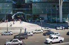 公路交通 佐治亚第比利斯 免版税库存照片