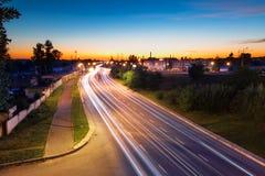 公路交通 库存图片